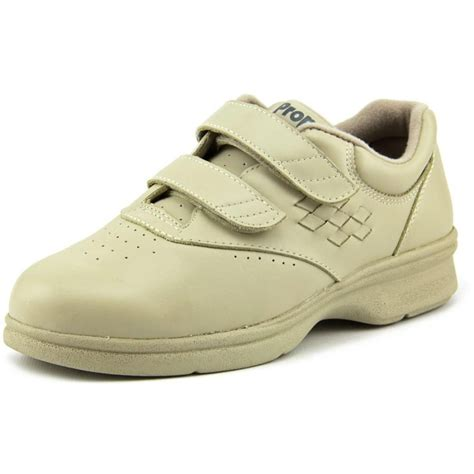 propet w3915 leather walking shoe athletic