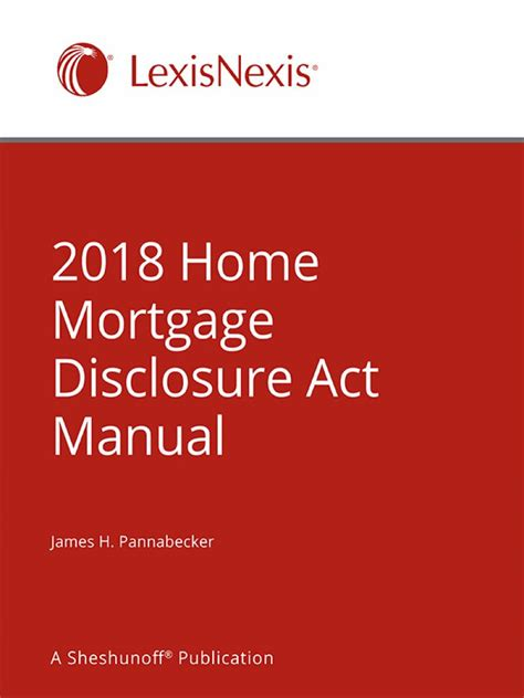 home mortgage disclosure act manual lexisnexis store
