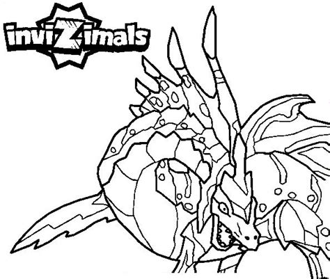 invizimals tiger shark coloring page invizimals coloring pages5 coloring kids