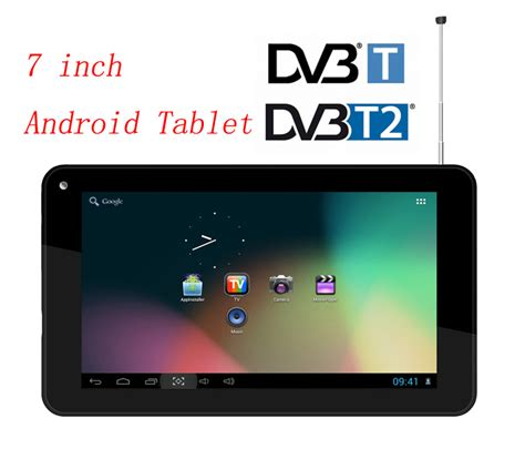 android 7 inch tablet android tvpad 7 inch wifi digital tablet dvb t2 for thailand russia colombia and dvb t for europe