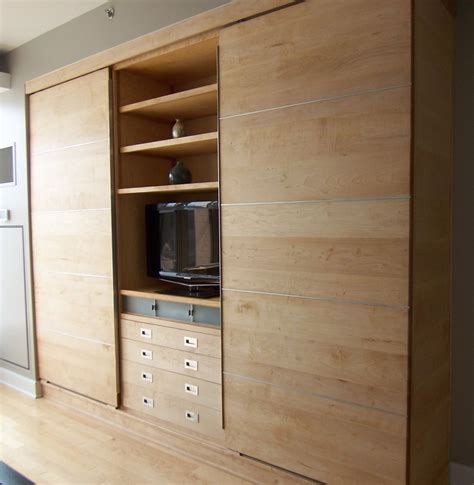 built in storage cabinets modern wall unit of maple products i