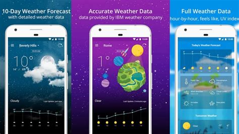 best weather app for android 15 best weather apps and weather widgets for android android authority