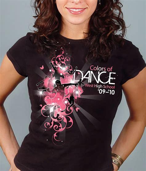 t shirt design dance west high dance t shirt on behance