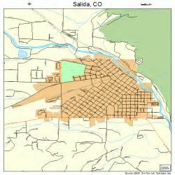 map of salida colorado area salida colorado map 0867280