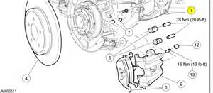 Service Brake System Ford Escape 2008 Ford Escape Drum Brake Diagram Autos Post