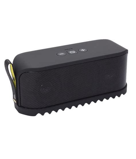 Speaker Bluetooth Jabra Buy Jabra Solemate Mini Bluetooth Speaker Black At Best Price In India Snapdeal