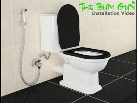bidet shower installation the bum gun bidet sprayer installation
