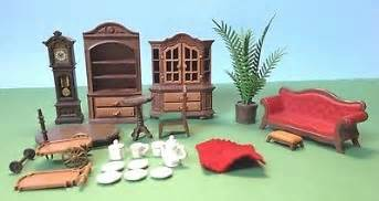 Living Room Parts by Vintage Playmobil Dollhouse Living Room Dining