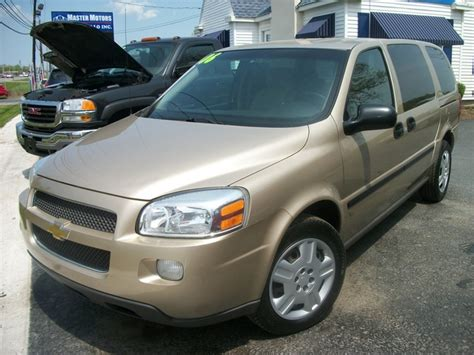 how cars run 2006 chevrolet uplander seat position control 2006 chevrolet uplander overview cargurus