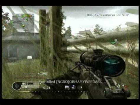 Call Of Duty 50 call of duty 4 barrett 50 cal montage