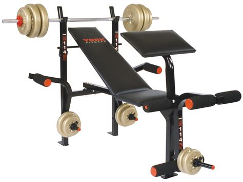 b114 bench press machine home equipment york barbell