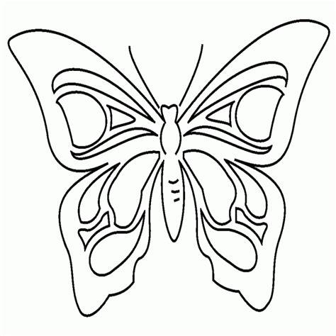 fiori e farfalle da colorare disegni di farfalle da colorare