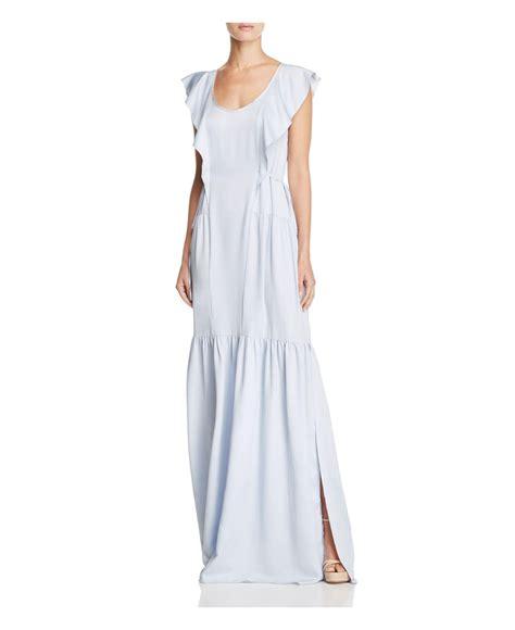 Nia Maxy Dress lyst connection nia maxi dress in blue