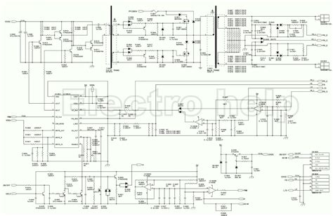 sony led tv circuit diagram 27 wiring diagram images