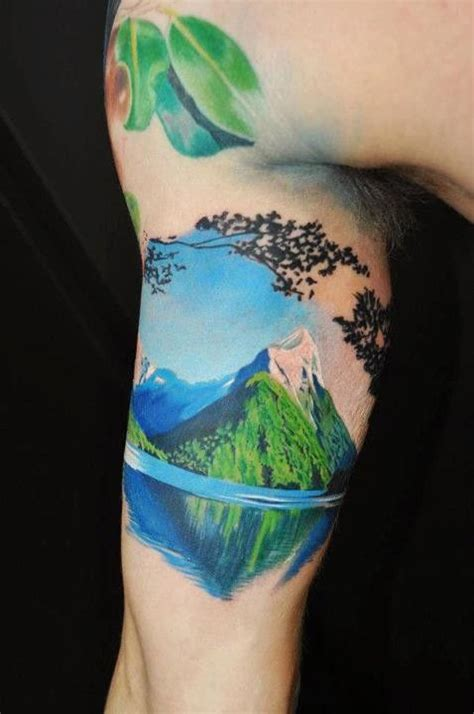 simple river tattoo 40 awesome mountain tattoo designs for men and women