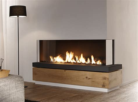 Bidore 140 Element4 Corner Direct Vent Gas Fireplace