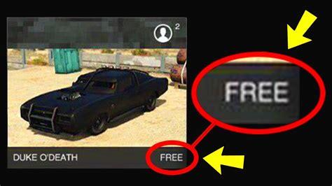 how to get the loss of a how to get the duke o for free in gta 5
