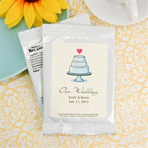 Wedding Favors Chocolate Mix by Personalized Wedding Chocolate Mix