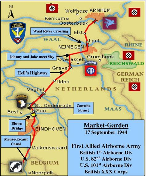 operation market garden 1944 3 the corps missions caign books 314 best images about market garden on