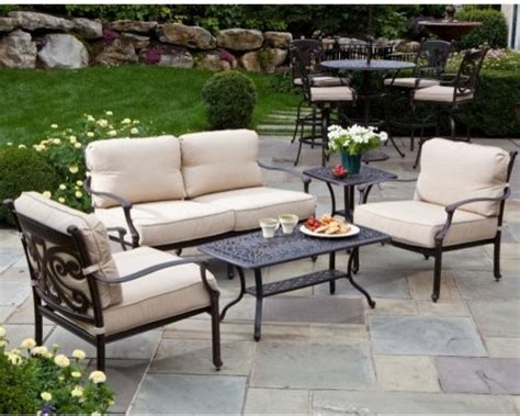 alfresco outdoor furniture alfresco home farfalla conversation set contemporary