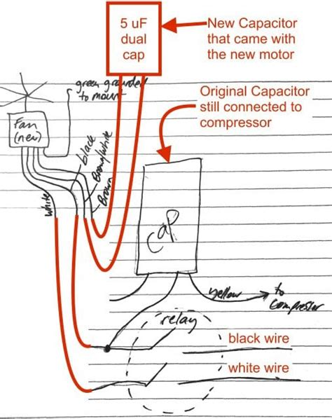 ac fan motor wiring diagram 27 wiring diagram images