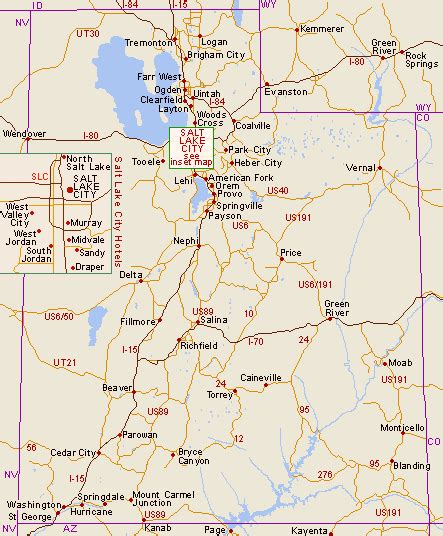 Utah Map Cities by Map Of Utah Cities Counties State Map Of Usa States