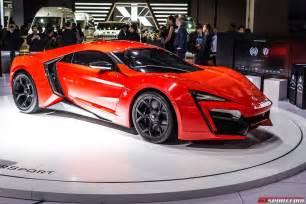 Lightning Hypersport Car Shanghai 2015 Lykan Hypersport Gtspirit