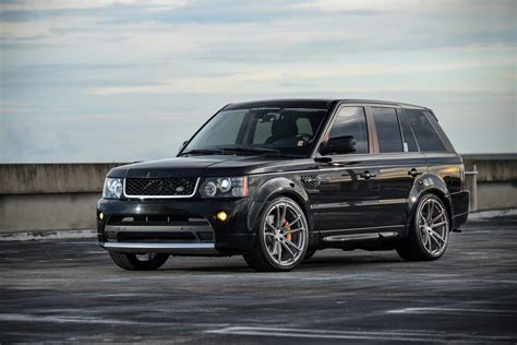range rover sport rims 22 2011 range rover sport supercharged on 22 quot velos s4 forged