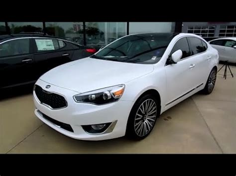 Kia Cadenza Luxury Package 2015 Kia Cadenza Premium Luxury Sunroof Technology