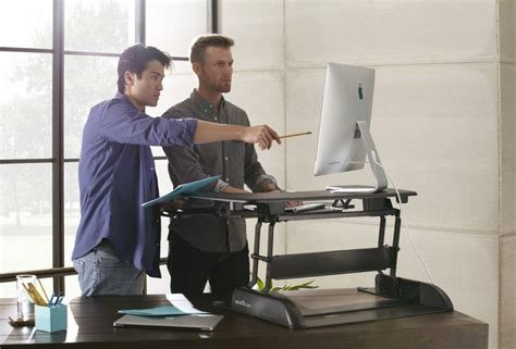 The Top Ten Best Standing Desks For Work Or Home Office Standing Desk Top