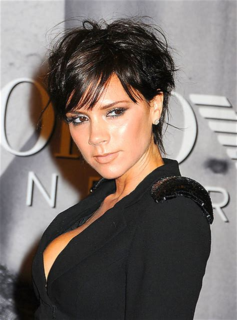 short piecy hair styles that have been texturized victoria beckham style hair make hairstyles