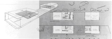 floor plan with perspective house the eames house construction literary magazine