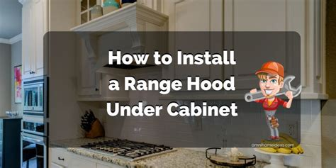 how to install a range cabinet how to install a range cabinet