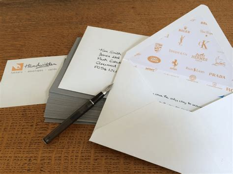 Handwritten Letter Service Uk Handwritten Direct Mail Letters Envelopes Thank You Card