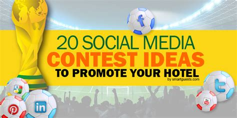 Social Media Giveaway Ideas - 20 social media contest ideas to promote your hotel