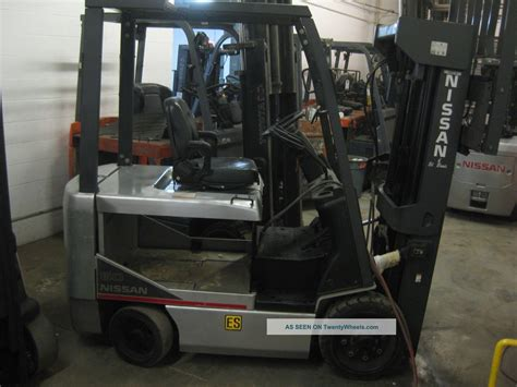 nissan 60 cpg1b2l30s electric forklift mast
