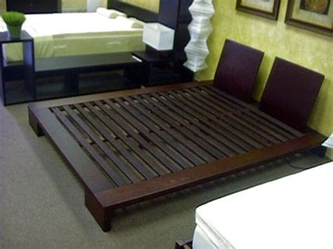 japanese bed frame plans pins  byob build