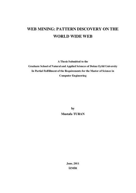 pattern discovery of web usage mining web mining pattern discovery on the world wide web 2011