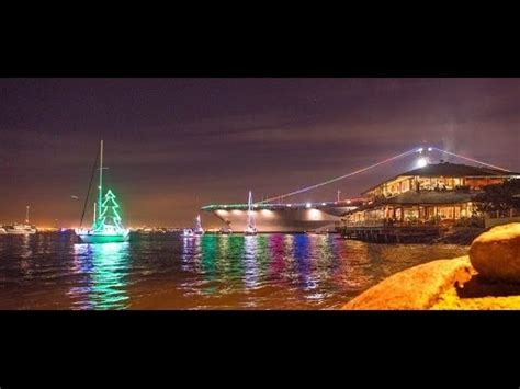 san diego boat parade 2013 san diego christmas boat parade of lights youtube
