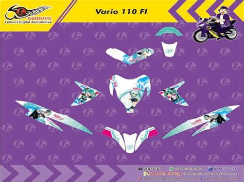 Striping Decal Vario 110 Marquest 309 best images about digitive on vinyls custom stickers and white strips