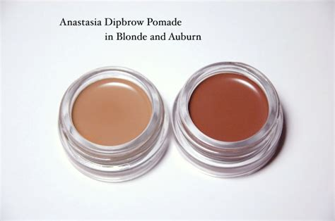 anastasia brow pomade swatches anastasia beverly hills dipbrow brow pomade in blonde and