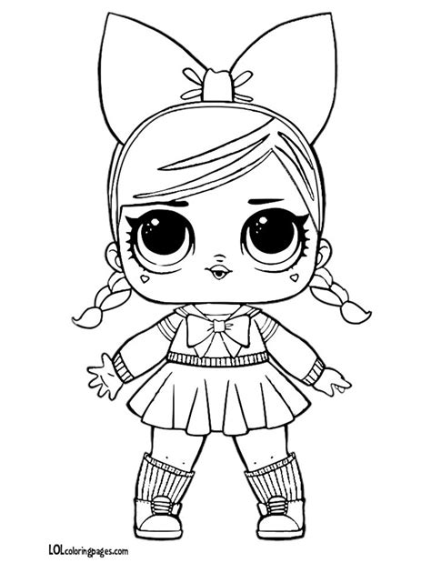 fanime lol doll coloring page lol doll