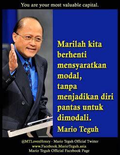 kumpulan kata kata bijak mario teguh west papua
