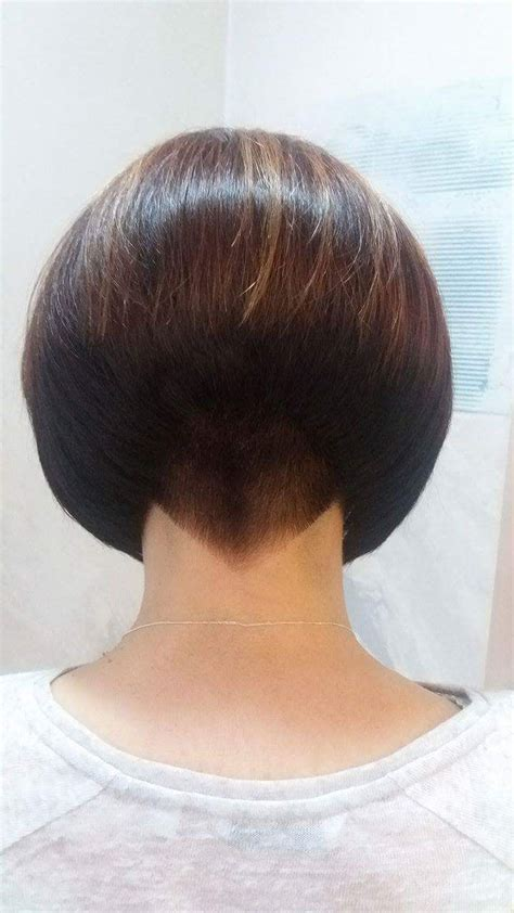 inverted bob short cut at the nape pictures 1000 images about short inverted bobs on pinterest