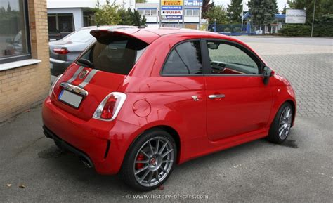 Fiat 500 History by Fiat 2009 500 Abarth Esseesse The History Of Cars