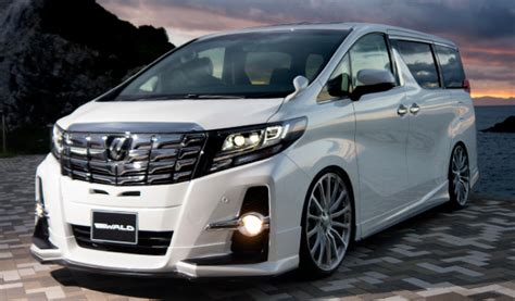 2016 Toyota Alphard Q 3 5 A T all new alphard