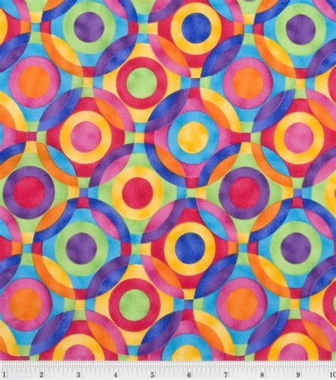 Be Black Geos Cotton Premium quilter s premium fabric ener geo circle brights jo