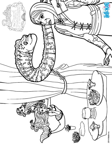 The Eel Murray Coloring Pages Hellokids Com Pearl Princess Coloring Pages