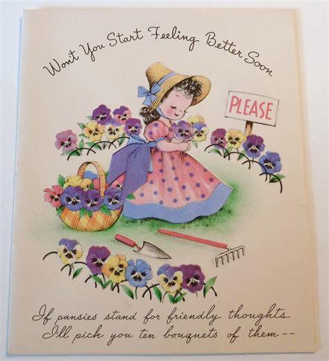 vintage birthday card poodle part of my vintage greeting vintage greeting card gardening part of my vintage
