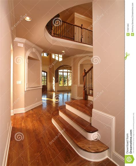 home interior stairs model luxury home interior hallway with stairs stock photo image of estate entry 11961484